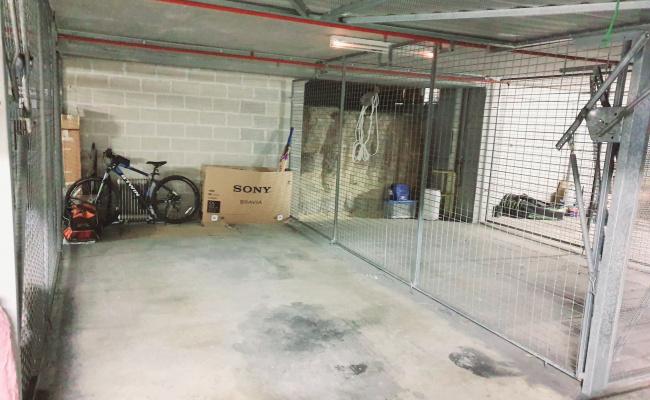 Lock up garage parking on William Street in North Sydney NSW