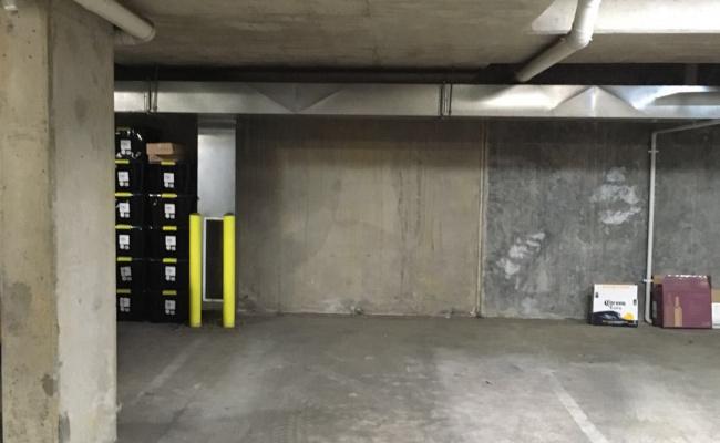 Indoor lot parking on Wilson Street in South Yarra