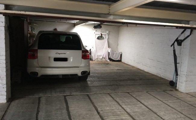 Lock up garage parking on Woorigoleen Road in Toorak Victoria