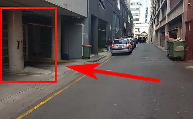 Undercover parking on York Street in Adelaide South Australia