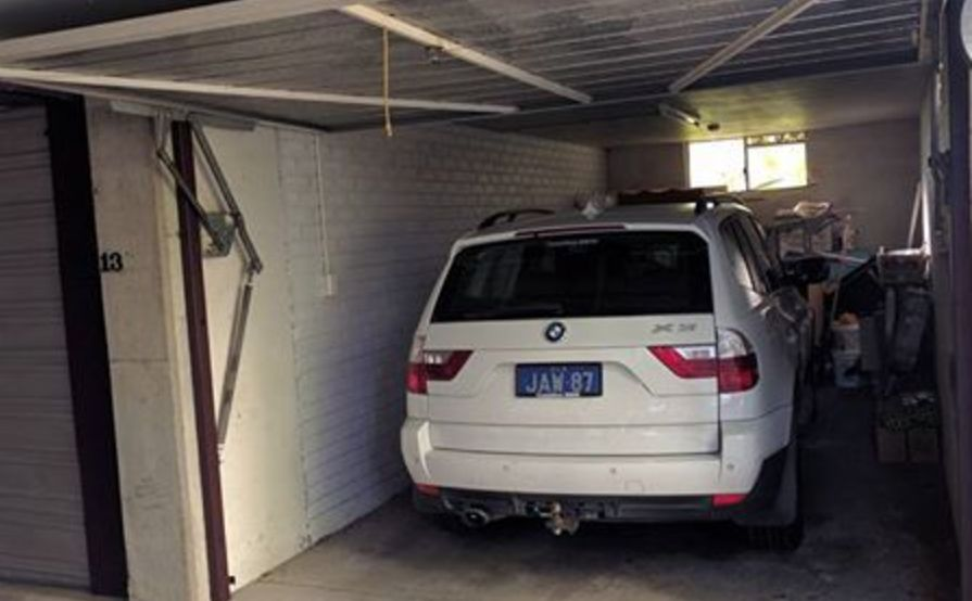 Lock up garage parking on Macquarie St in St Lucia