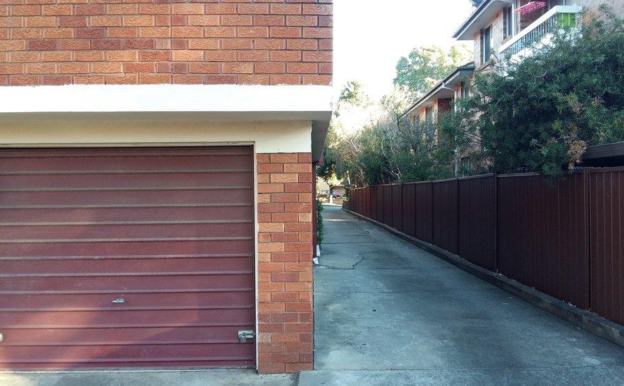 Lock up garage parking on Eastbourne Rd in Homebush West