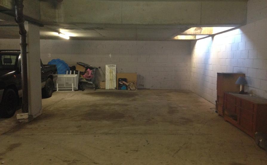 Lock up garage parking on Belgrave St in Bronte