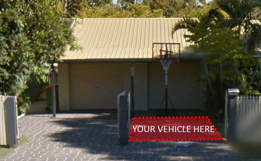 Driveway parking on Alma St in Thorneside QLD 4158