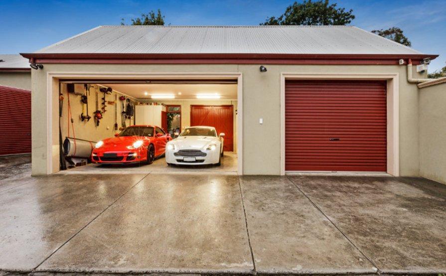 Lock up garage parking on Flemington VIC 3031 in Australia